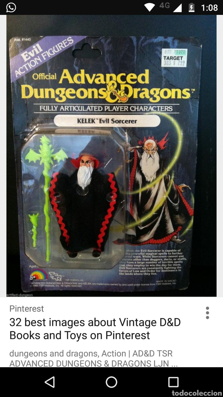 Figuras de acción: D&D - Bastón Dragones y mazmorras KELEK mago malo - Foto 2 - 94918999