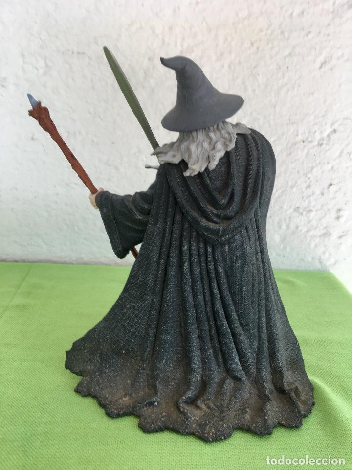 Figuras de acción: Gandalf el gris el señor de los anillos the lord of the rings applause 2001 figura completa 25 cm - Foto 3 - 95199391