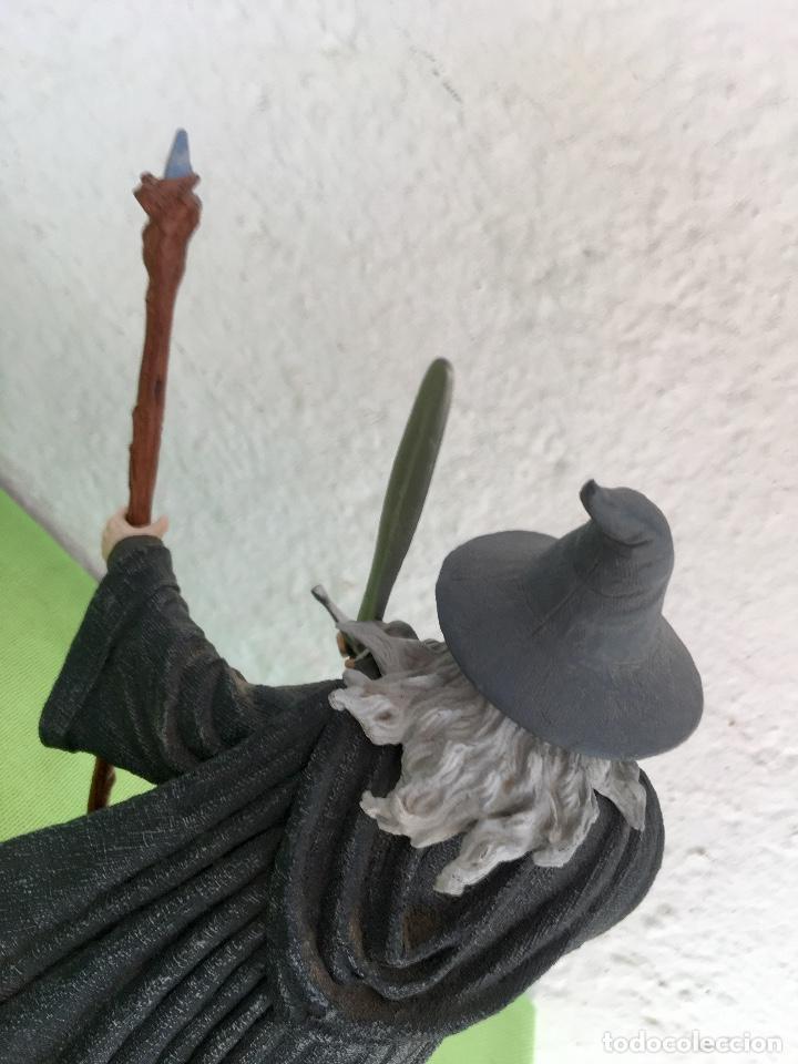 Figuras de acción: Gandalf el gris el señor de los anillos the lord of the rings applause 2001 figura completa 25 cm - Foto 4 - 95199391