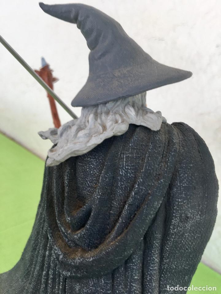Figuras de acción: Gandalf el gris el señor de los anillos the lord of the rings applause 2001 figura completa 25 cm - Foto 7 - 95199391