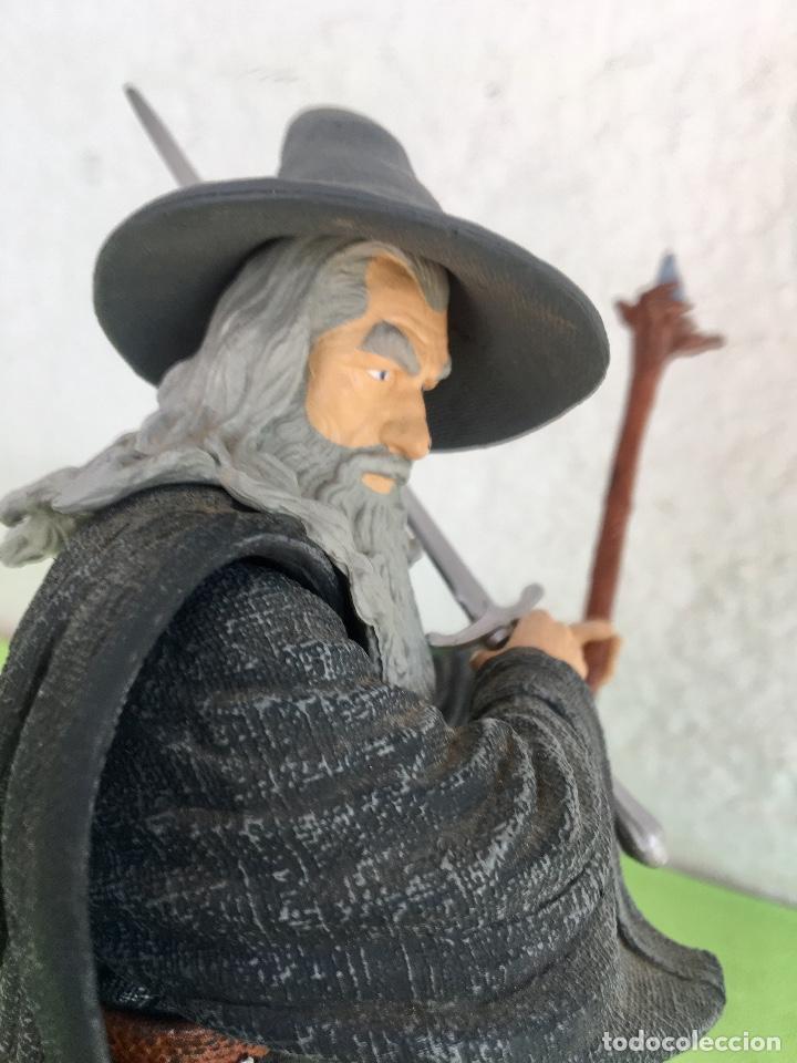 Figuras de acción: Gandalf el gris el señor de los anillos the lord of the rings applause 2001 figura completa 25 cm - Foto 8 - 95199391
