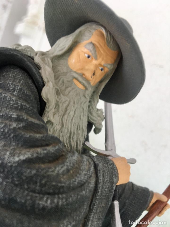 Figuras de acción: Gandalf el gris el señor de los anillos the lord of the rings applause 2001 figura completa 25 cm - Foto 9 - 95199391