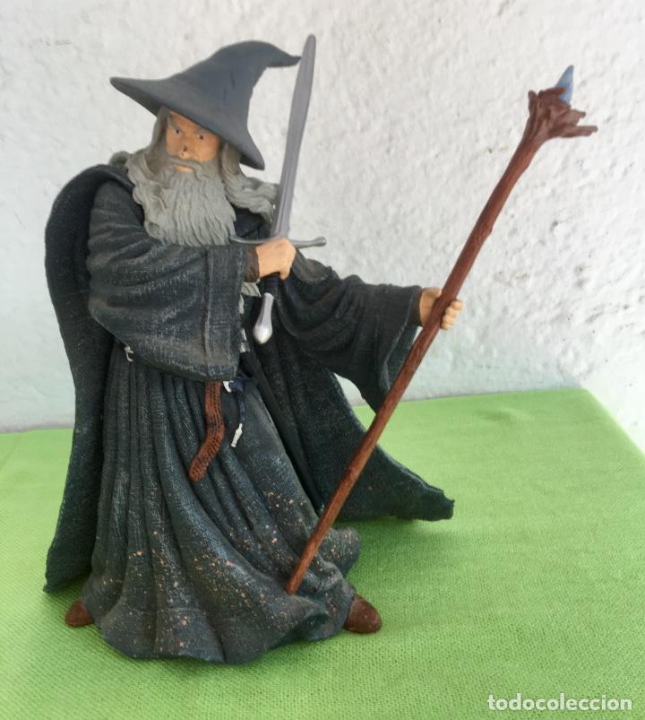 Figuras de acción: Gandalf el gris el señor de los anillos the lord of the rings applause 2001 figura completa 25 cm - Foto 10 - 95199391