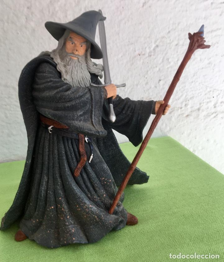 Figuras de acción: Gandalf el gris el señor de los anillos the lord of the rings applause 2001 figura completa 25 cm - Foto 11 - 95199391