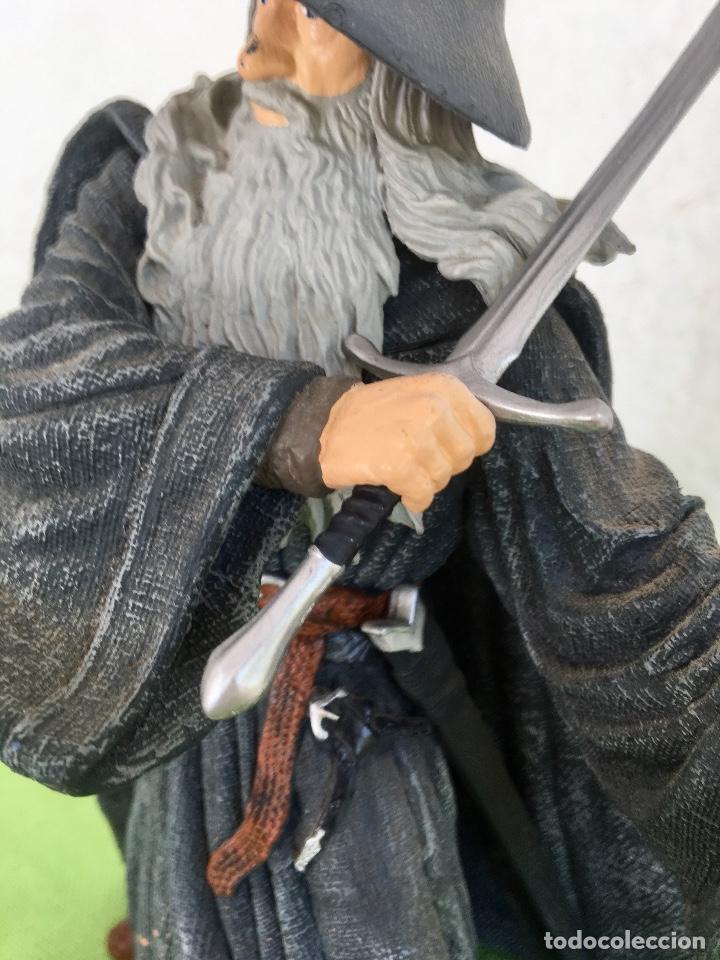 Figuras de acción: Gandalf el gris el señor de los anillos the lord of the rings applause 2001 figura completa 25 cm - Foto 14 - 95199391
