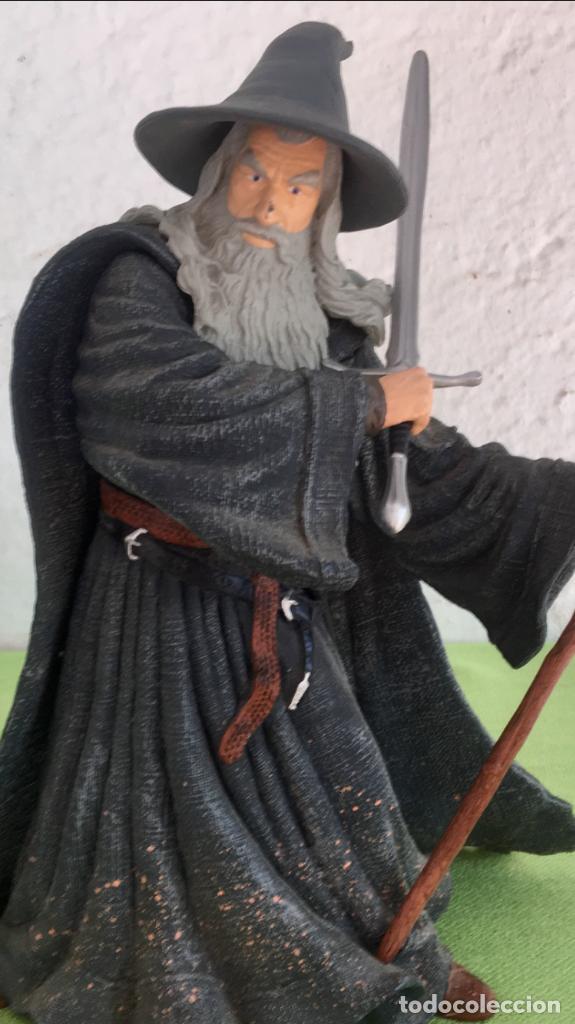 Figuras de acción: Gandalf el gris el señor de los anillos the lord of the rings applause 2001 figura completa 25 cm - Foto 18 - 95199391