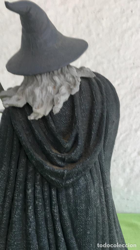 Figuras de acción: Gandalf el gris el señor de los anillos the lord of the rings applause 2001 figura completa 25 cm - Foto 19 - 95199391
