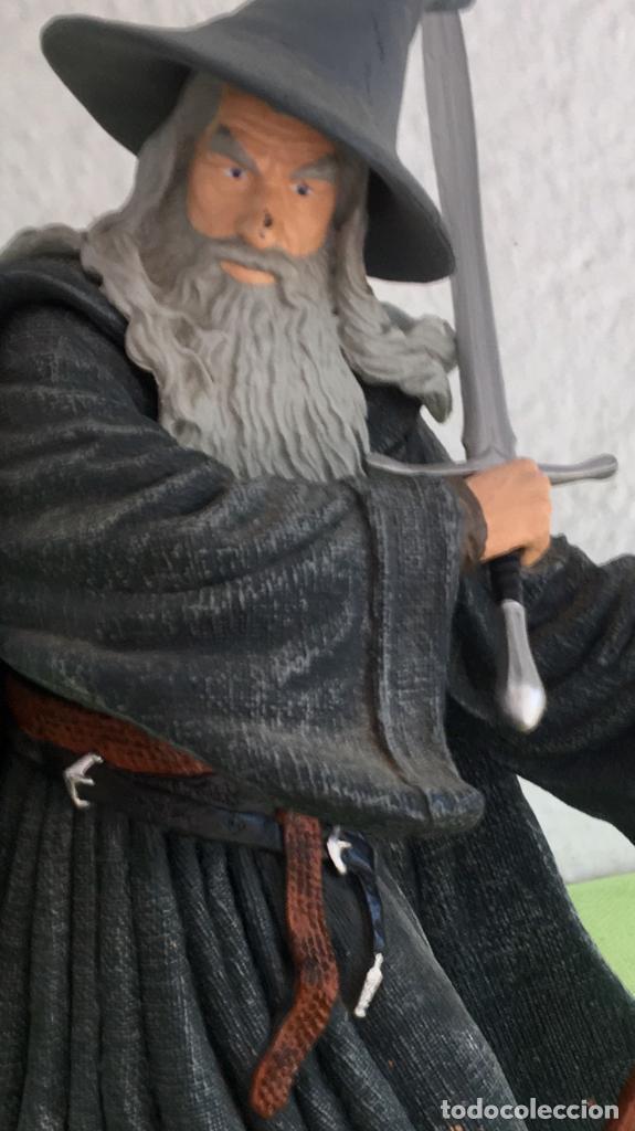 Figuras de acción: Gandalf el gris el señor de los anillos the lord of the rings applause 2001 figura completa 25 cm - Foto 20 - 95199391