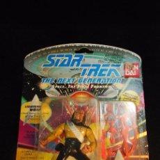 Figuras de acción: MUÑECO EN BLISTER DE STAR TREK - THE NEXT GENERATION - LIEUTENANT WORF - PLAYMATES - 1992 - . Lote 98038823