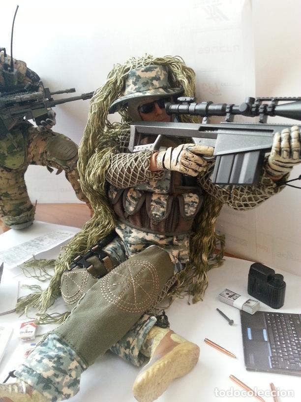 Figuras de acción: Figura articulada escala 1/6 Francotirador USA. - Foto 4 - 99782915