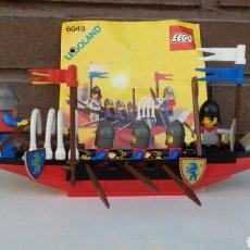 Figuras de acción: LEGO MEDIEVAL SET 6049-BARCO CRUZADOS-(1987). Lote 100242204