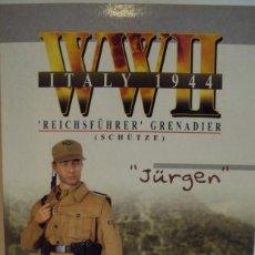 Figuras de acción: DRAGON 1/6 - JURGUEN REICHFHURER SS ITALIA 1944. Lote 101520879