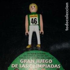 Figuras de acción: MUÑECO GRAN JUEGO DE LAS OLIMPIADAS COLA CAO 5 CM. Lote 104429947