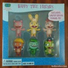 Figuras de acción: HAPPY TREE FRIENDS - EXCLUSIVE LIMITED EDITION 6 FIGURINE SET - SDCC EXCLUSIVE 2004. Lote 104592779