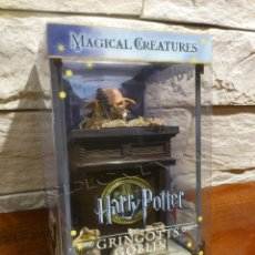 Figuras de acción: HARRY POTTER - GRINGOTTS GOBLIN - Nº 10 - MAGICAL CREATURES - NOBLE COLLECTION - FIGURA - NUEVO. Lote 104947139
