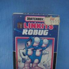 Figuras de acción: JUGUETE LINKITS ROBUG DE MATCH BOX AÑOS 70 O 80. Lote 105281527