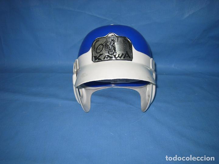 Figuras de acción: Antiguo casco Kawa años 70 o 80. Juguetes Sambers Ref 97 made in Spain - Foto 3 - 106586971