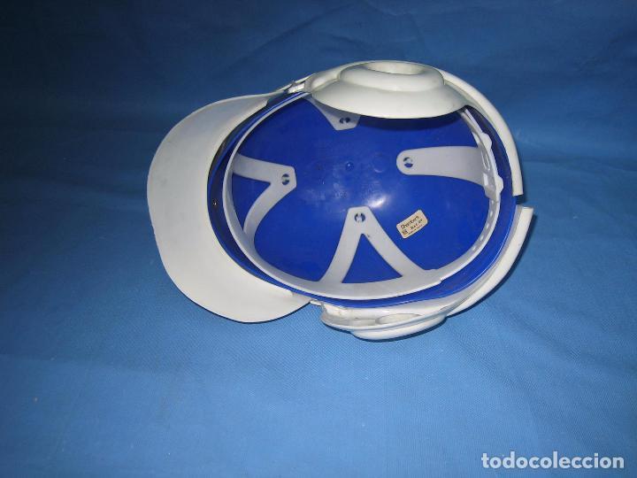 Figuras de acción: Antiguo casco Kawa años 70 o 80. Juguetes Sambers Ref 97 made in Spain - Foto 6 - 106586971
