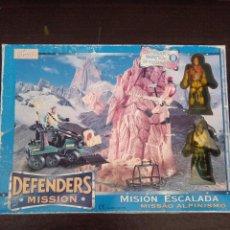 Figuras de acción: DEFENDERS , MISSION ESCALADA , A ESTRENAR, DE FAMOSA. Lote 108459903