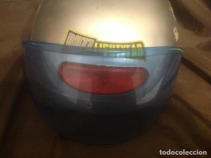 Figuras de acción: Casco Saga Toy Story Pixar Buzz Lightyear antiguo Luz y Sonido funcionando - Foto 2 - 108920951