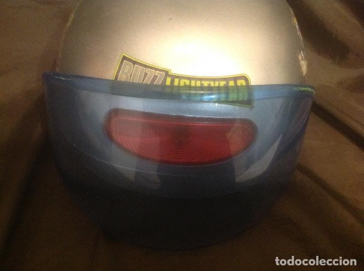Figuras de acción: Casco Saga Toy Story Pixar Buzz Lightyear antiguo Luz y Sonido funcionando - Foto 3 - 108920951