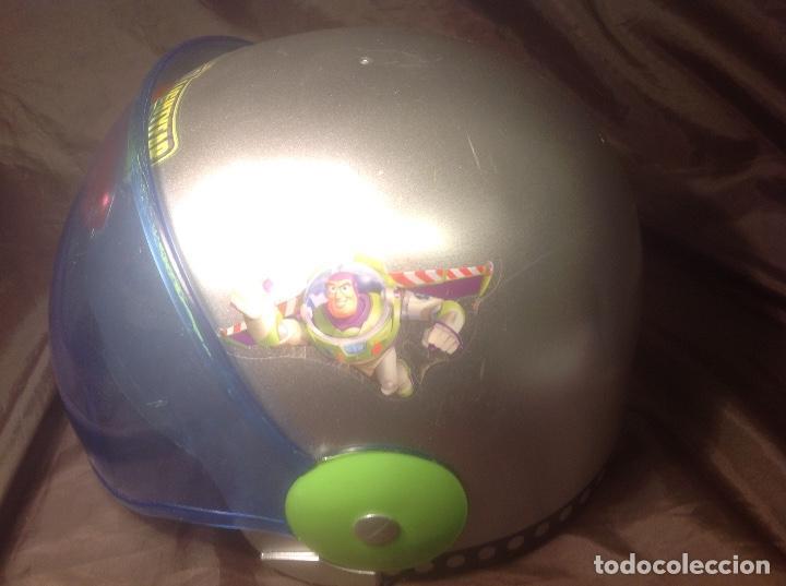 Figuras de acción: Casco Saga Toy Story Pixar Buzz Lightyear antiguo Luz y Sonido funcionando - Foto 4 - 108920951
