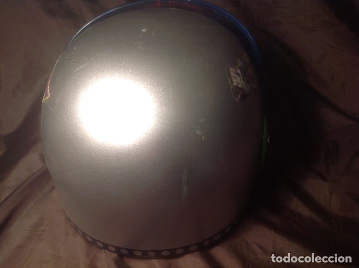 Figuras de acción: Casco Saga Toy Story Pixar Buzz Lightyear antiguo Luz y Sonido funcionando - Foto 5 - 108920951