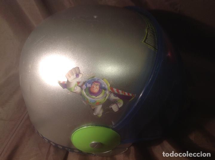 Figuras de acción: Casco Saga Toy Story Pixar Buzz Lightyear antiguo Luz y Sonido funcionando - Foto 6 - 108920951