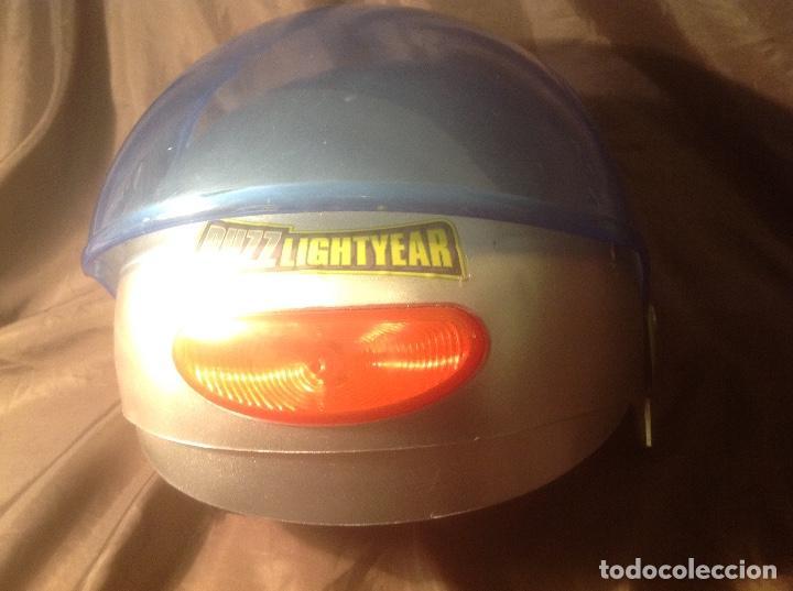 Figuras de acción: Casco Saga Toy Story Pixar Buzz Lightyear antiguo Luz y Sonido funcionando - Foto 7 - 108920951