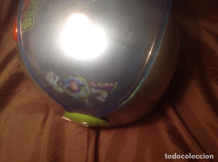 Figuras de acción: Casco Saga Toy Story Pixar Buzz Lightyear antiguo Luz y Sonido funcionando - Foto 9 - 108920951