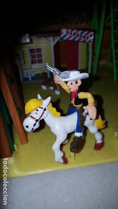 Figuras de acción: LUCKY LUKE . - FORT-CANYON (1985) - Foto 3 - 109068483
