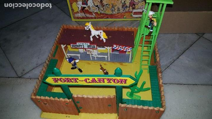 Figuras de acción: LUCKY LUKE . - FORT-CANYON (1985) - Foto 6 - 109068483