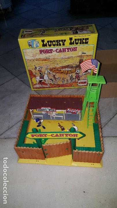 Figuras de acción: LUCKY LUKE . - FORT-CANYON (1985) - Foto 1 - 109068483