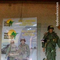 Figuras de acción: ULTIMATE SOLDIER - SOLDADO AMERICANO EN OPERACIÓN MARKET GARDEN 1944 - FABRICACIÓN 2000/2001. Lote 110781891