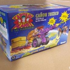 Figuras de acción: CAPTAIN PLANET CAÑON TOXICO KENNER 1991. Lote 112373822