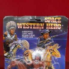 Figuras de acción: SPACE WESTERN HERO DJ TRADE RARO. Lote 111889099