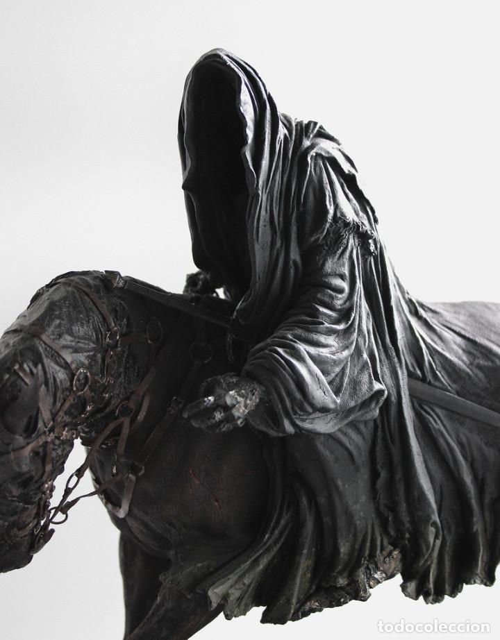 Figuras de acción: Figura Sideshow Weta. Nazgul a caballo. El Señor de los Anillos. Leer oferta en el interior!! - Foto 2 - 80260957
