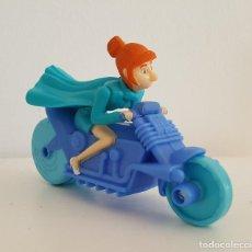 Figuras de acción: LUCY WILDE EN MOTO. GRU 3. MCDONALDS. Lote 112629763