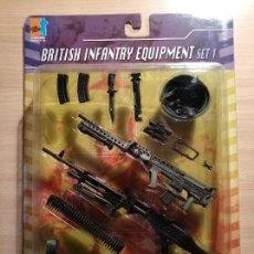 Figuras de acción: PANOPLIA DE ACCESORIOS - BRITISH INFANTRY EQUIPMENT SET 1 - REF 71194 - GEYPERMAN, DID, DRAGON. Lote 112640803
