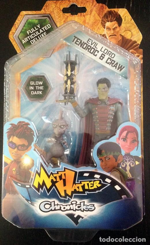 Details about  /Matt Hatter Chronicles Fully Articulated Action Figure New in packet