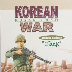 Figuras de acción: FIGURAS DRAGON 1/6, JACK, USMC SNIPER, KOREAN WAR, PUSAN 1950, REF. 70025. Lote 182128460