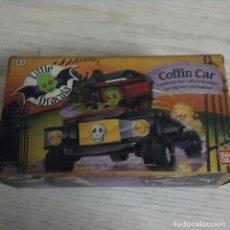 Figuras de acción: LITTLE DRÁCULA COFFIN CAR ,BANDAI. Lote 181007751