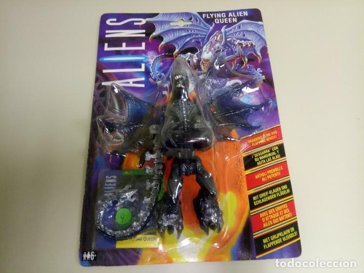 318 Figura Aliens Flying Alien Queen Kenner Añ Sold Through