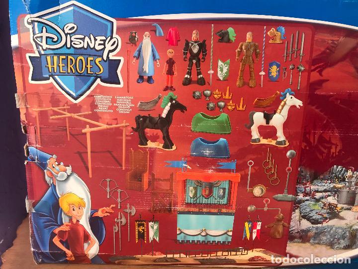 Figuras de acción: disney heroes merlin el encantador- torneo, justa - Nuevo de jugueteria - Foto 3 - 116775047