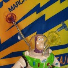 Figuras de acción: BUZZ LIGHTYEAR TOY STORY MARCA DISNEY-PIXAR FUNCIONANDO. Lote 118461275