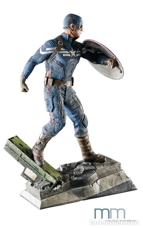 Figuras de acción: Captain America: The Winter Soldier 53 CM MUCKLE MANNEQUINS AVENGERS FIGURE LIMITED Capitan America - Foto 3 - 118504095