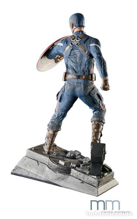 Figuras de acción: Captain America: The Winter Soldier 53 CM MUCKLE MANNEQUINS AVENGERS FIGURE LIMITED Capitan America - Foto 4 - 118504095