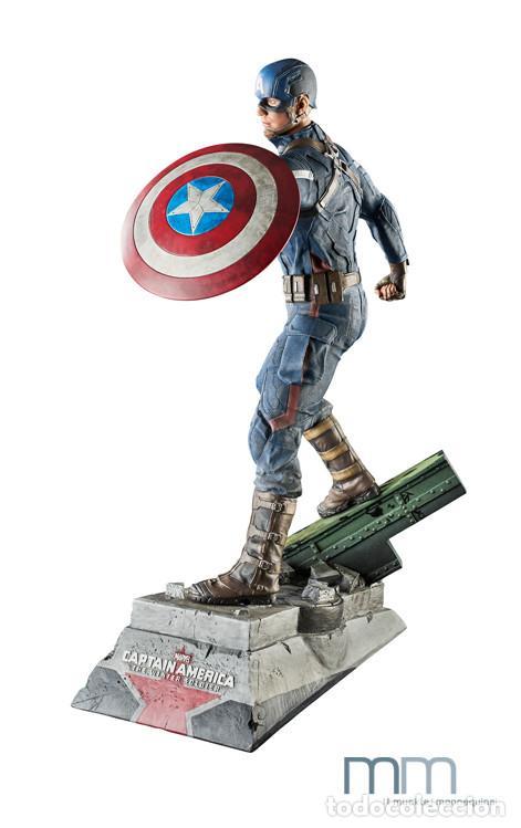 Figuras de acción: Captain America: The Winter Soldier 53 CM MUCKLE MANNEQUINS AVENGERS FIGURE LIMITED Capitan America - Foto 5 - 118504095