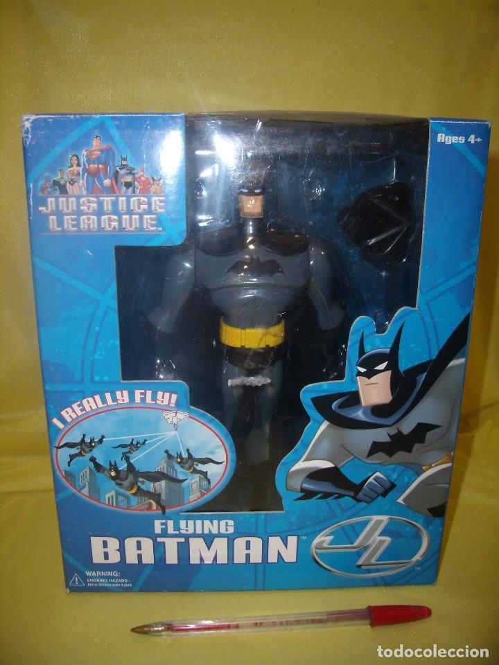 Figuras de acción: Batman volador de Fusion Toys USA, año 2002, Nuevo sin abrir. - Foto 3 - 118931539
