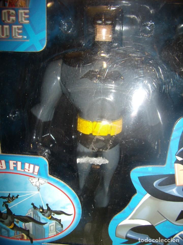 Figuras de acción: Batman volador de Fusion Toys USA, año 2002, Nuevo sin abrir. - Foto 7 - 118931539